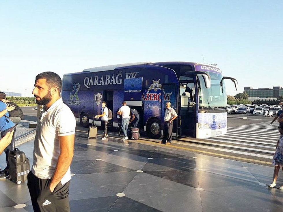 Garabakh FK departed to England's capital