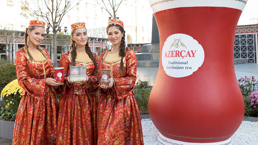 AZERÇAY has found the way to the heart of Muscovites with national tea traditions!