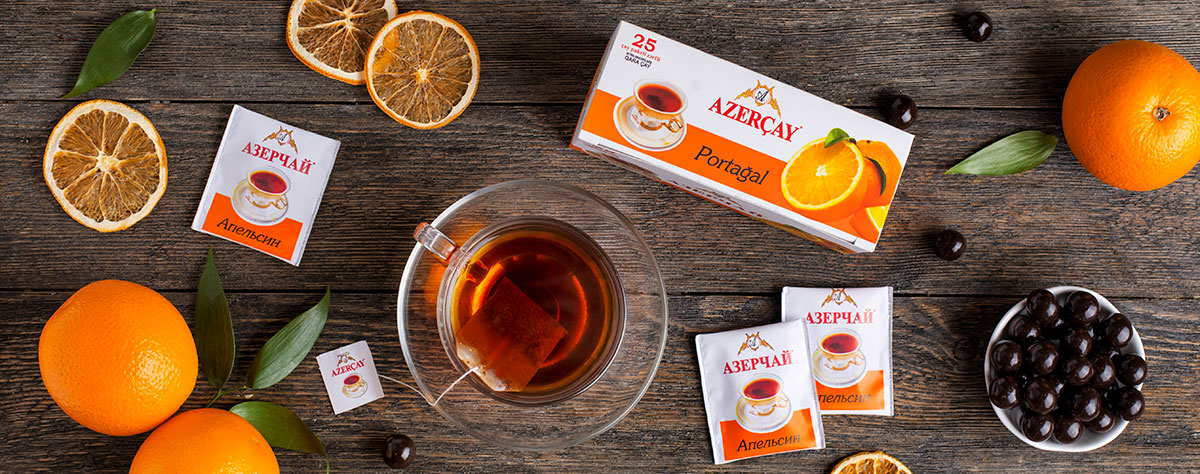 Tea with orange